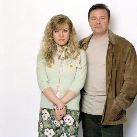 Extras : Bild Ashley Jensen, Ricky Gervais