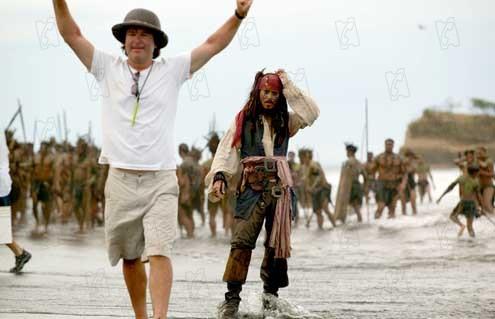Pirates of the Caribbean - Fluch der Karibik 2 : Bild Gore Verbinski, Johnny Depp