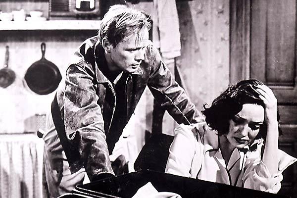 Der Haß ist blind : Bild Joseph L. Mankiewicz, Linda Darnell, Richard Widmark
