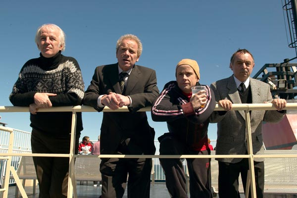 On a Clear Day : Bild Billy Boyd, Gaby Dellal, Peter Mullan