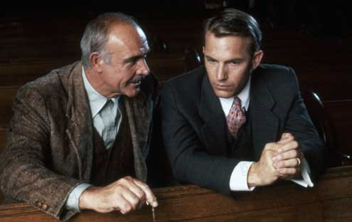 Die Unbestechlichen : Bild Kevin Costner, Sean Connery