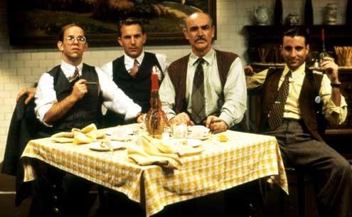 Die Unbestechlichen : Bild Andy Garcia, Charles Martin Smith, Kevin Costner, Sean Connery
