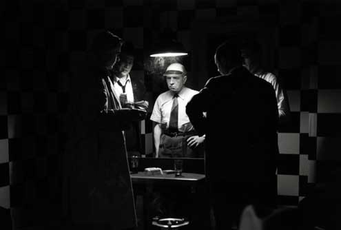 Drei Uhr nachts : Bild Daniel Cauchy, Gérard Buhr, Jean-Pierre Melville, Roger Duchesne