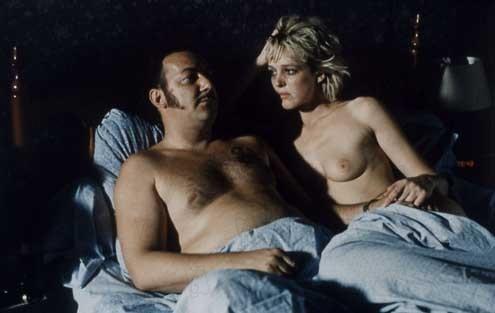 Am Rande der Nacht : Bild Agnès Soral, Claude Berri, Coluche