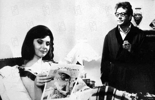 Bild Dino Risi, Michèle Mercier, Ugo Tognazzi