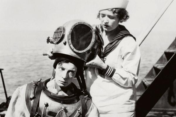 Der Navigator : Bild Buster Keaton, Donald Crisp