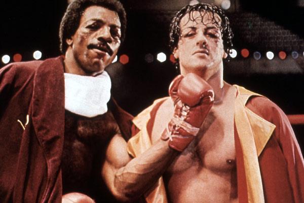 Rocky : Bild Carl Weathers, John G. Avildsen, Sylvester Stallone