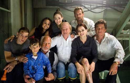 Poseidon : Bild Emmy Rossum, Jacinda Barrett, Jimmy Bennett, Kurt Russell, Mia Maestro