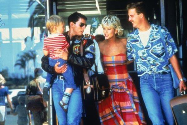 Top Gun : Bild Anthony Edwards, Meg Ryan, Tom Cruise