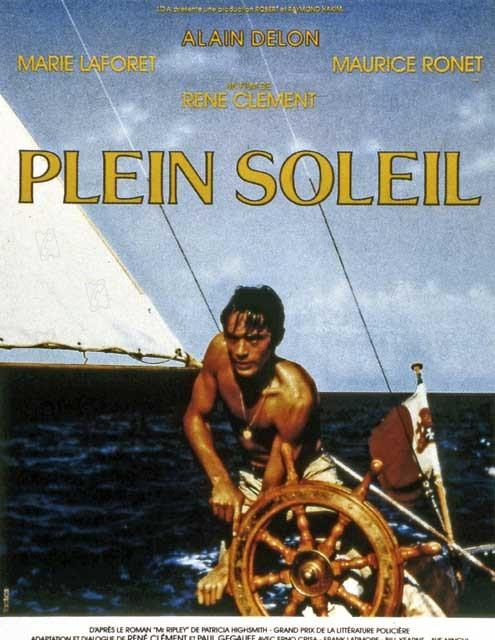 Nur die Sonne war Zeuge : Bild Alain Delon, Marie Laforêt, René Clément