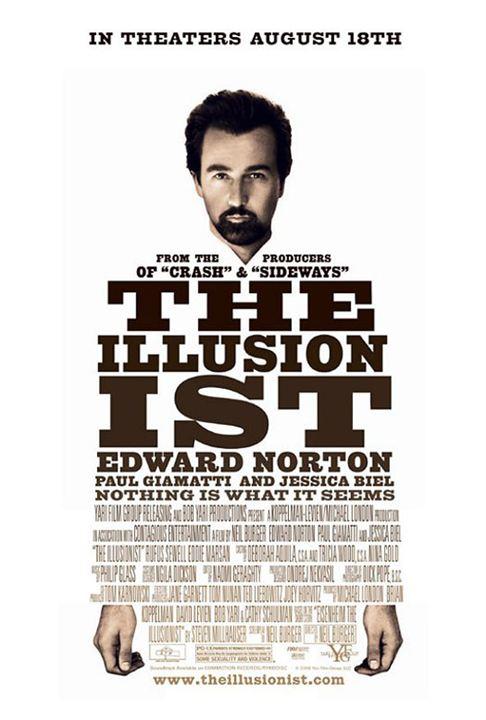 The Illusionist - Nichts ist wie es scheint : Kinoposter Edward Norton