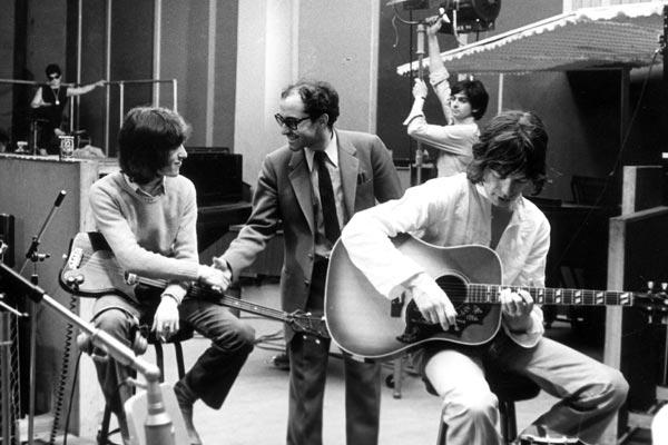 One plus one : Bild Bill Wyman, Jean-Luc Godard, Mick Jagger