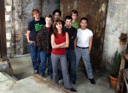 Bild Erin Karpluk, Matthew Currie Holmes, Neil Grayston, Noel Fisher, Rick Tae