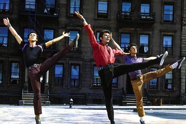 West Side Story : Bild George Chakiris, Robert Wise