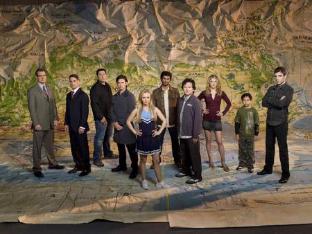 Heroes : Bild Adrian Pasdar, Ali Larter, Greg Grunberg, Hayden Panettiere, Jack Coleman
