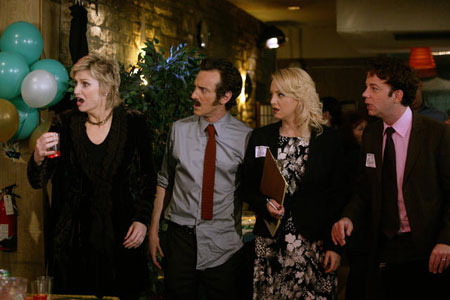 Bild Jack Plotnick, Jane Lynch, Sam Pancake, Wendi McLendon-Covey