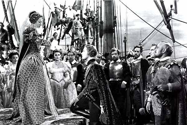 Der Herr der sieben Meere : Bild Errol Flynn, Flora Robson, Michael Curtiz