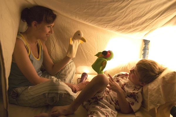 The Nanny Diaries : Bild Nicholas Reese Art, Robert Pulcini, Scarlett Johansson, Shari Springer Berman