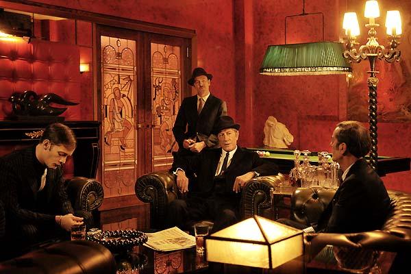 Bild Alain Corneau, Daniel Duval, Jacques Bonnaffé, Jacques Dutronc, Nicolas Duvauchelle