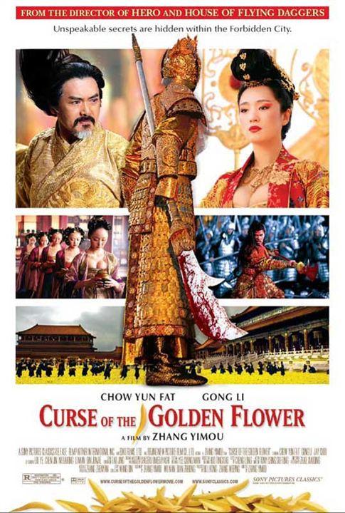 Der Fluch der goldenen Blume : Kinoposter Gong Li