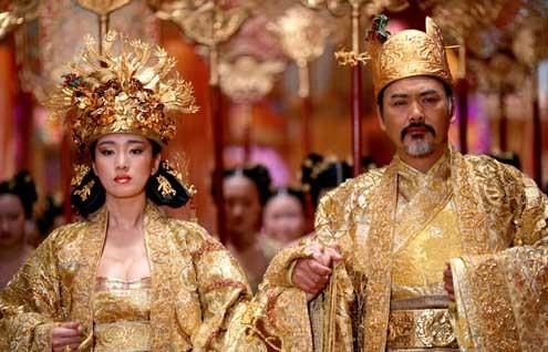 Der Fluch der goldenen Blume : Bild Chow Yun-Fat, Gong Li