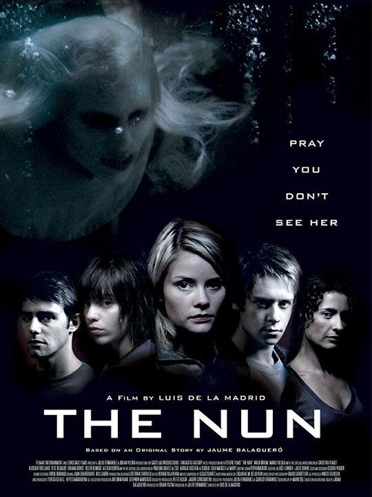 The Nun : Kinoposter Alistair Freeland, Anita Briem, Belen Blanco, Cristina Piaget, Luis De La Madrid
