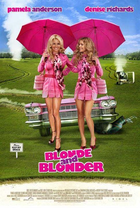 Blond und Blonder : Kinoposter Dean Hamilton