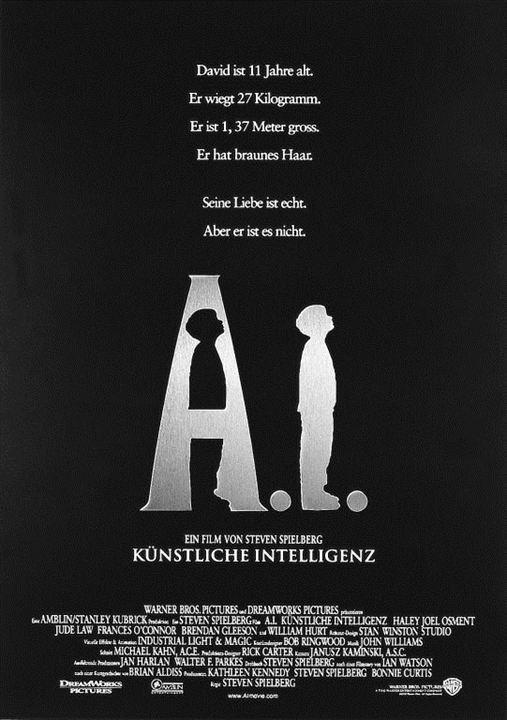 A.I. - Künstliche Intelligenz : Kinoposter