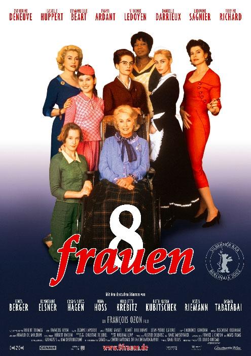 8 Frauen : poster