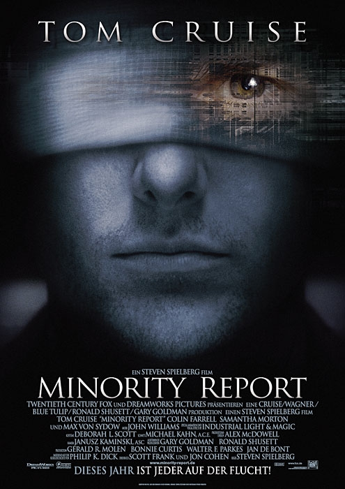 Minority Report : Kinoposter
