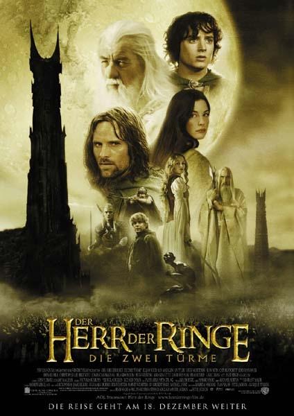 Der Herr der Ringe - Die zwei Türme : Kinoposter