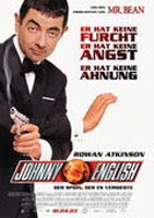 Johnny English - Der Spion, der es versiebte : Kinoposter