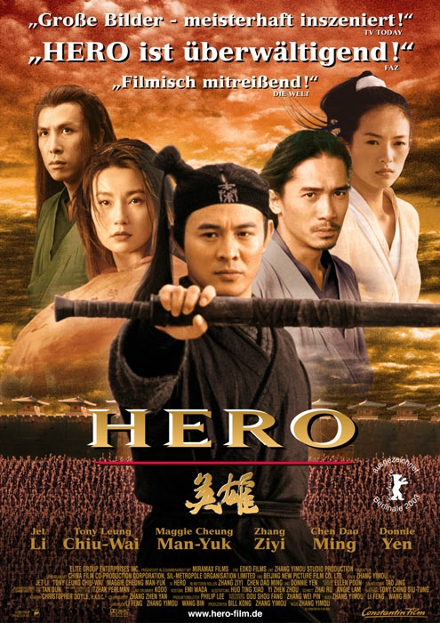 Hero : Kinoposter