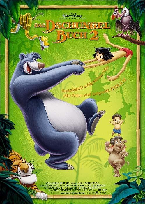 Das Dschungelbuch 2 : Kinoposter