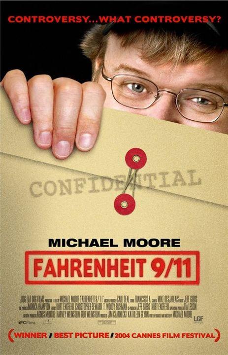 Fahrenheit 9/11 : poster