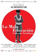 La mala Educación - Schlechte Erziehung : Kinoposter