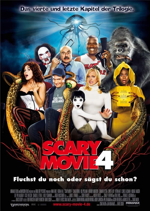 Scary Movie 4 : Kinoposter