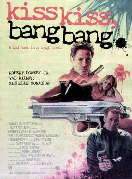 Kiss Kiss Bang Bang : Kinoposter