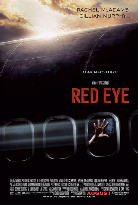 Red Eye - Nachtflug in den Tod : Kinoposter