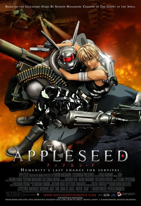 Appleseed : Kinoposter