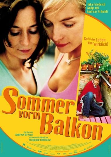 Sommer vorm Balkon : poster