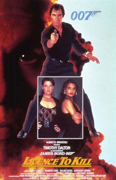 James Bond 007 - Lizenz zum Töten : Kinoposter John Glen, Timothy Dalton