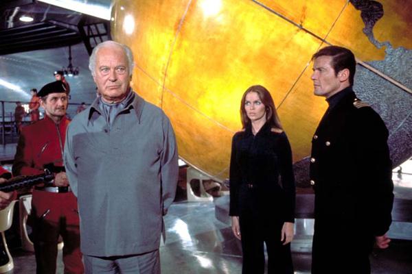 James Bond 007 - Der Spion, der mich liebte : Bild Barbara Bach, Curd Jürgens, Roger Moore