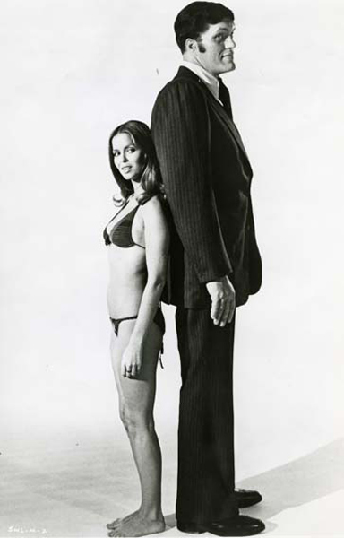 James Bond 007 - Der Spion, der mich liebte : Bild Barbara Bach, Richard Kiel