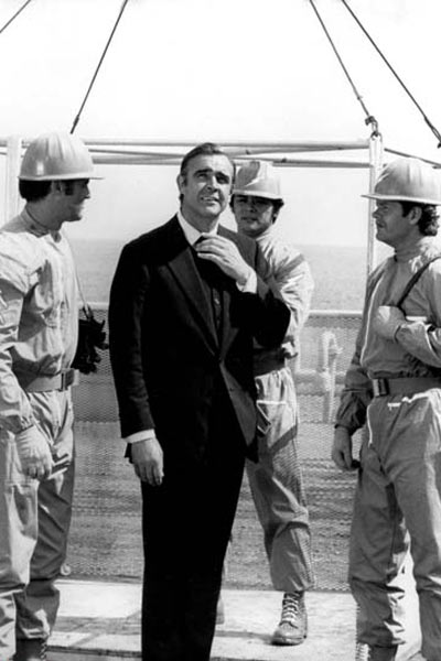 James Bond 007 - Diamantenfieber : Bild Sean Connery