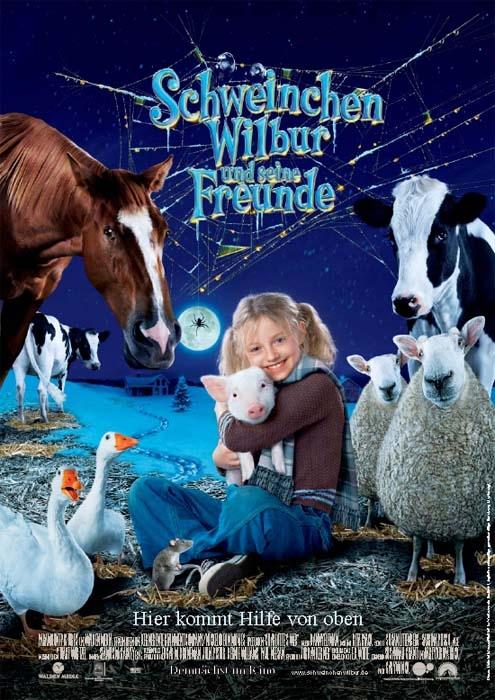 Schweinchen Wilbur und seine Freunde : Kinoposter