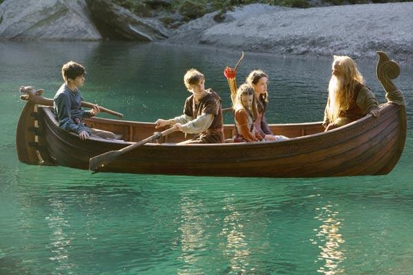 Die Chroniken von Narnia - Prinz Kaspian von Narnia : Bild Andrew Adamson, Anna Popplewell, Georgie Henley, Peter Dinklage, Skandar Keynes