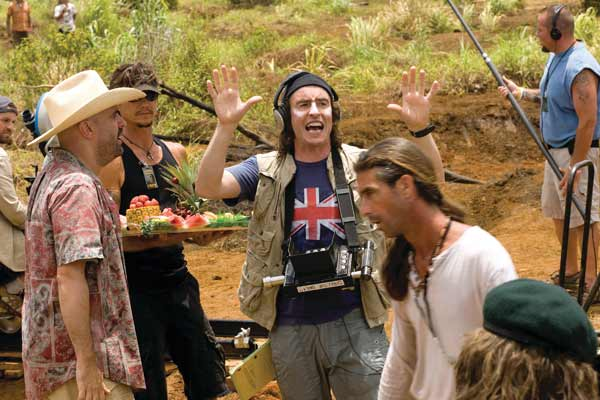 Tropic Thunder : Bild Ben Stiller, Damien Cockburn, Steve Coogan