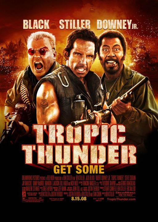 Tropic Thunder : Kinoposter Ben Stiller, Jeff Portnoy