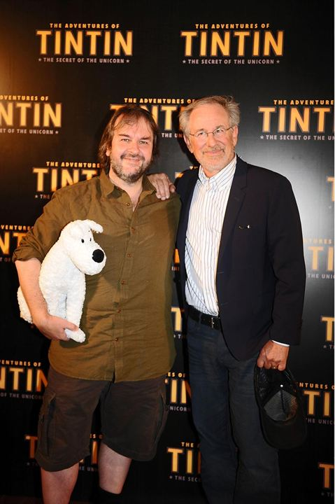 """Die Abenteuer von Tim und Struppi - Das Geheimnis der """"Einhorn"""" : Vignette (magazine) Peter Jackson, Steven Spielberg"""